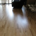 Project D: A finished project, new laminate floors installed